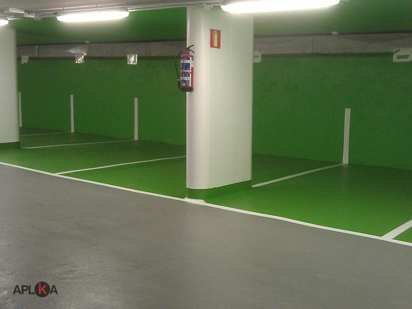 Pintura para suelos de garaje stunning pintura para - Suelo para garaje ...